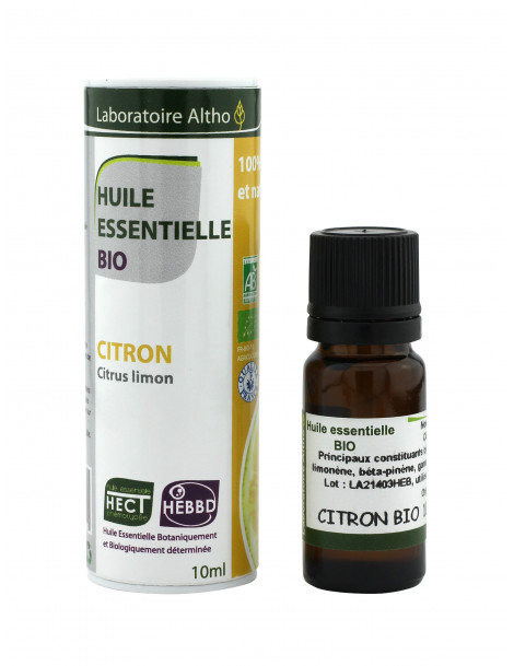 Citron - Esenciální olej BIO, 10 ml (Itálie)
