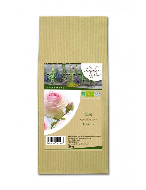 Damašská růže poupě sušené, 30 g BIO