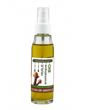 HŘEBÍČEK ochucený bio olej, 50 ml