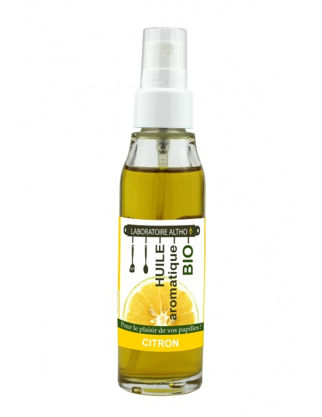 CITRÓN ochucený bio olej, 50 ml