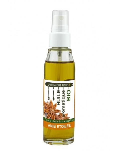 BADYÁN ochucený bio olej, 50 ml