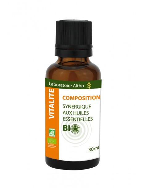 Energizující Směs Bio, 30 ml