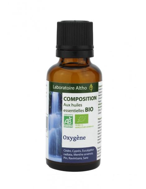 Okysličující (oxygen) Směs Bio, 30 ml