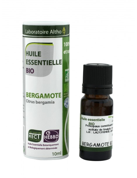 Bergamot - Esenciální olej organic, 10 ml (Itálie)