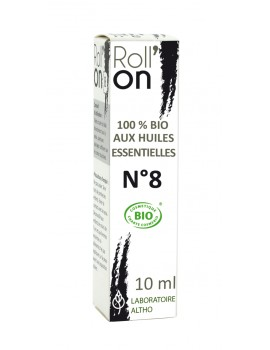 Roll-on N°8 BIO - na akné, 10 ml