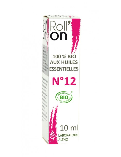 Roll-on N°12 BIO - zkrášlující, 10 ml