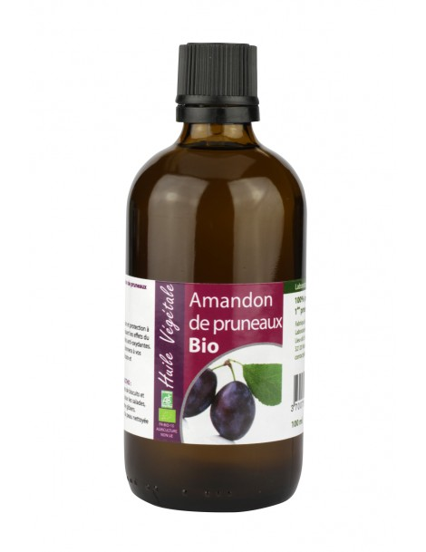 Švestkový - Rostlinný olej BIO, 100 ml