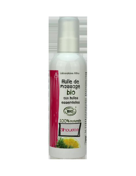 Masážní olej BIO - zeštíhlující, 200 ml