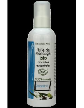 Masážní olej BIO - RESPIRAČNÍ, 200 ml